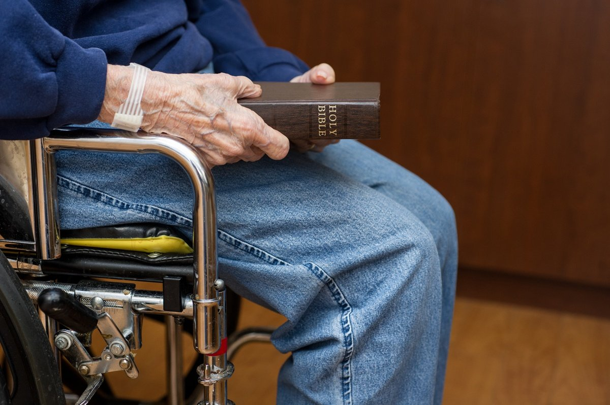Going to church has many benefits for the elderly population.