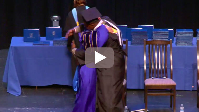 The power of live video streaming a graduation