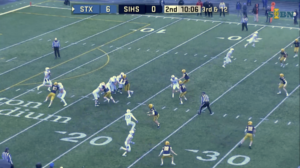 Football camera angle