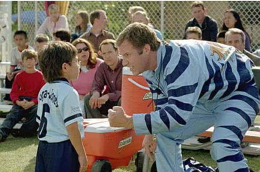 Will Ferrell was a helicopter parent in the movie Kicking and Screaming