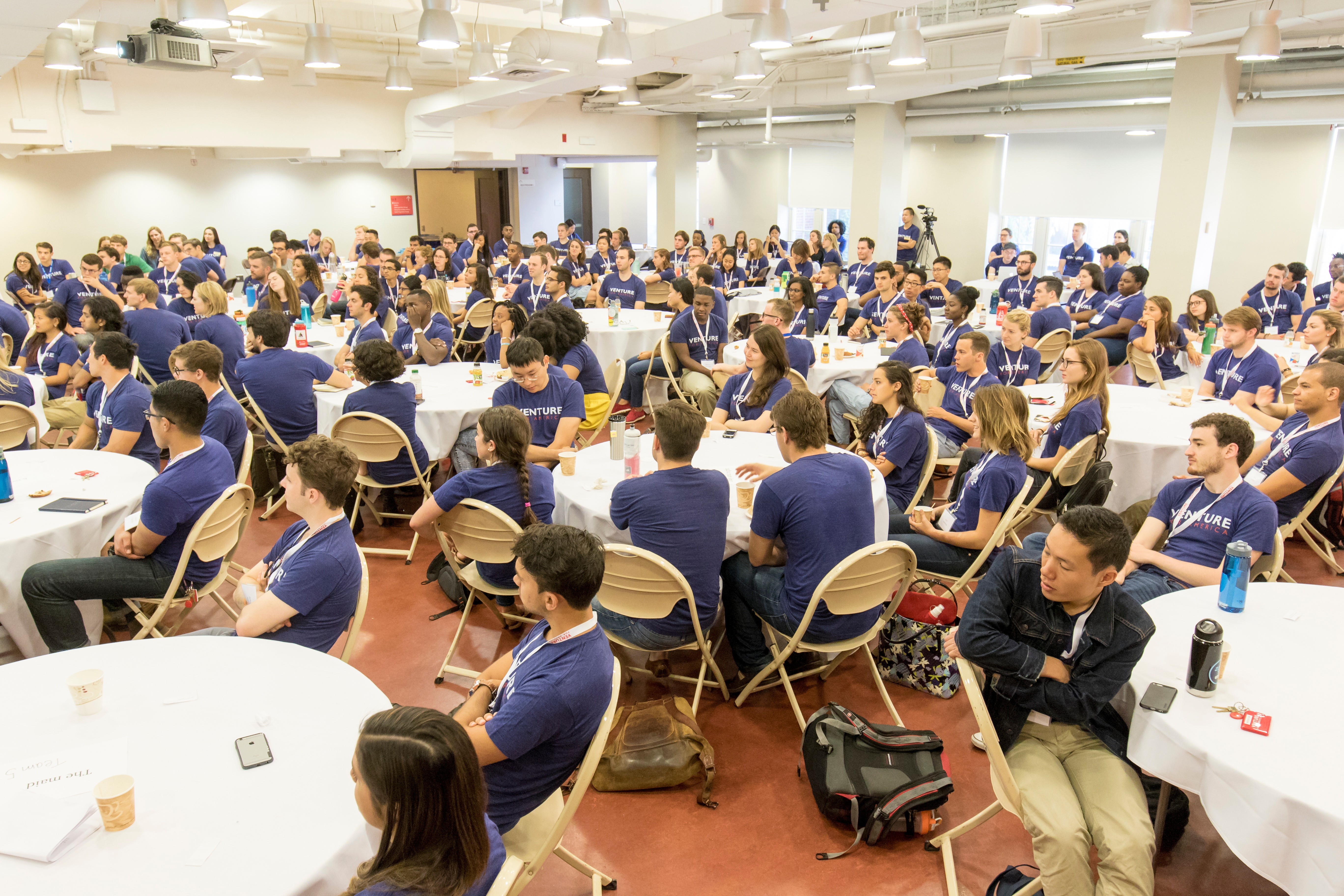 Venture for America Fellows Gather at Training Camp