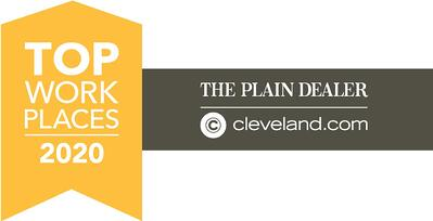 Cleveland Top Workplaces Award 2020