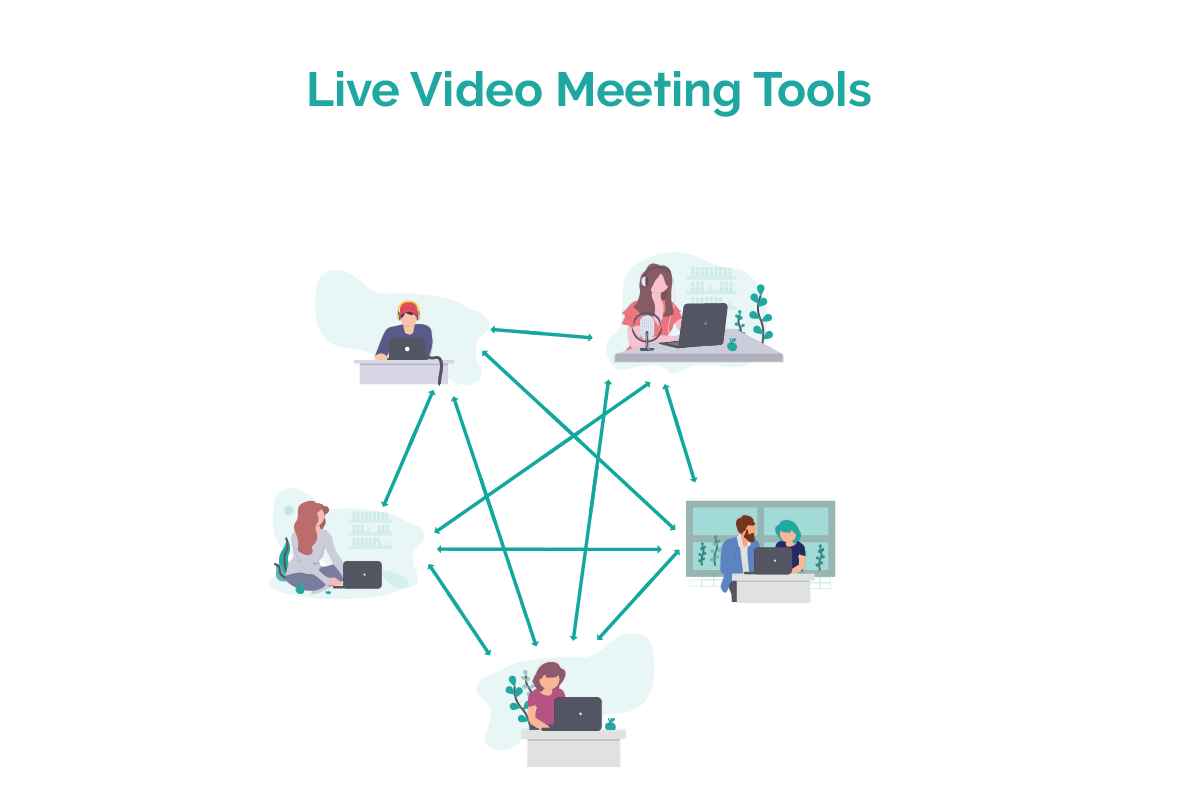 Conferencing and Meeting Video vs Live Video Streaming