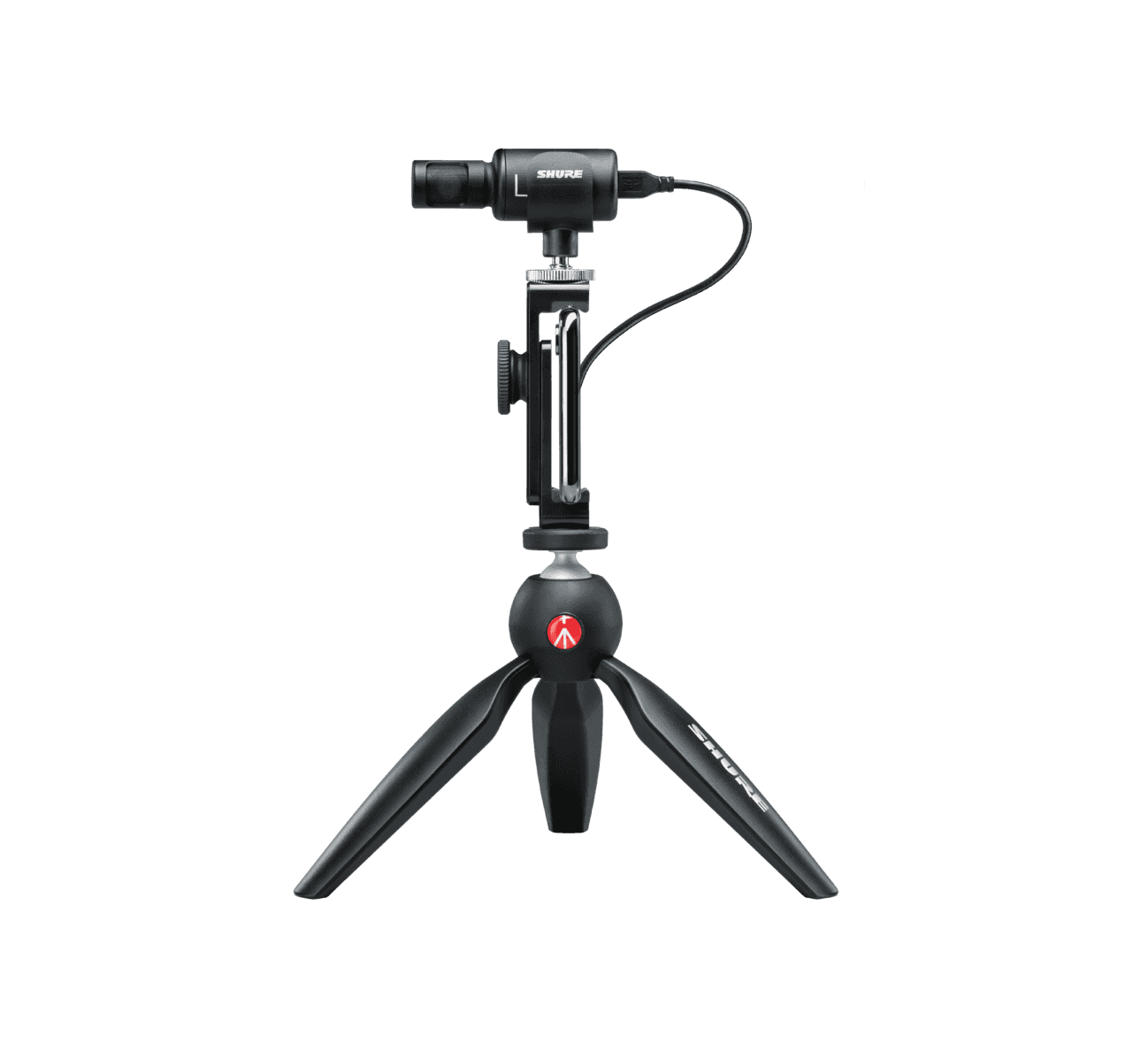 Shure video kit and accessory tripod