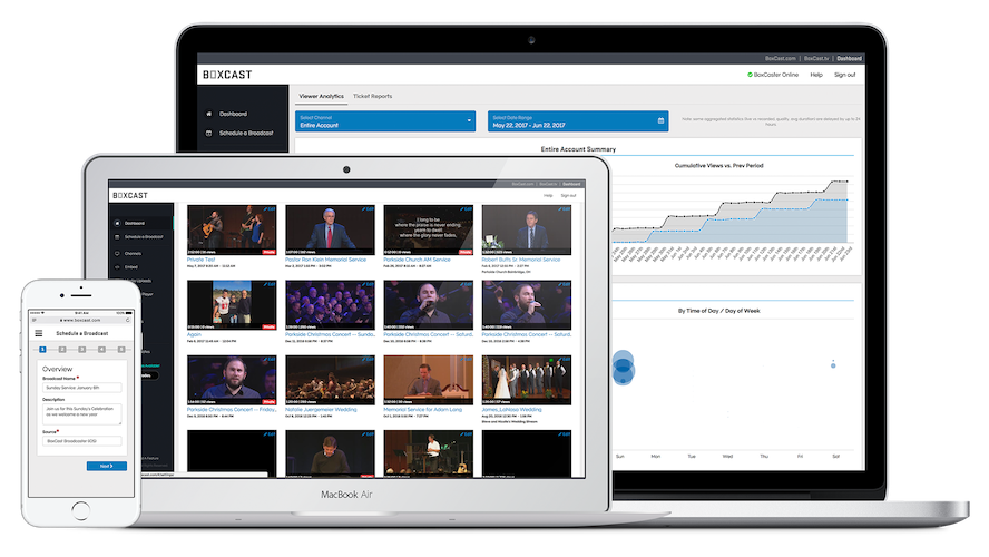 Try BoxCast For Free